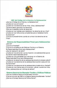 ABC del código de la infancia y la adolescencia