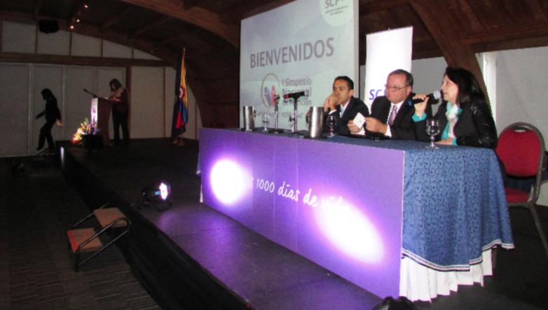 'Los primeros 1.000 días de vida', con gran aceptación en el I Simposio Nacional de Nutrición en Bogotá.
