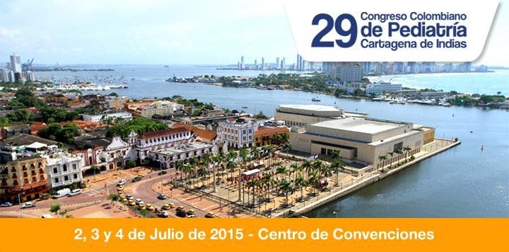 29º Congreso Colombiano de Pediatría: la cita es en Cartagena 'La Heroica'