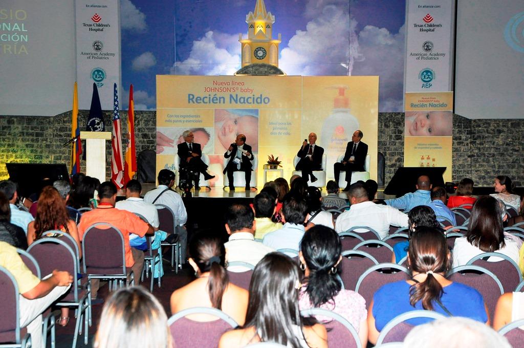 Algunos conferencistas destacados en nuestro 29º Congreso Colombiano de Pediatría