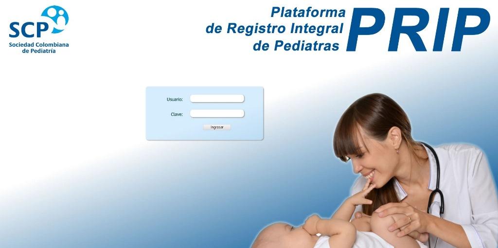 Ya está lista la Plataforma de Registro Integral de Pediatras-PRIP en la SCP