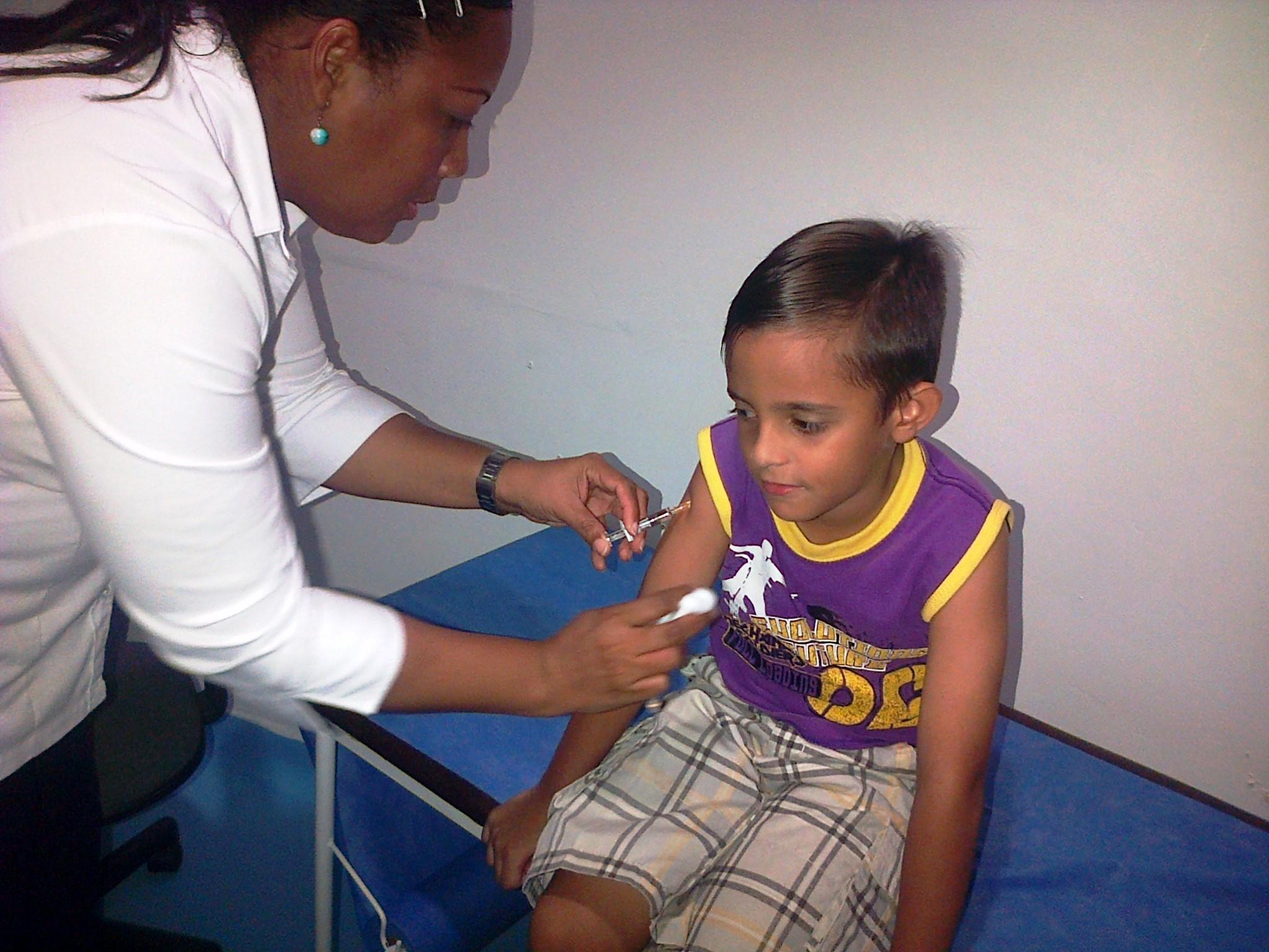 Centro de Vacunación regional Bolívar SCP