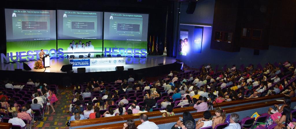 ¡Gracias a los 2.835 participantes que cumplieron nuestra cita en el 29º Congreso Colombiano de Pediatría en Cartagena!
