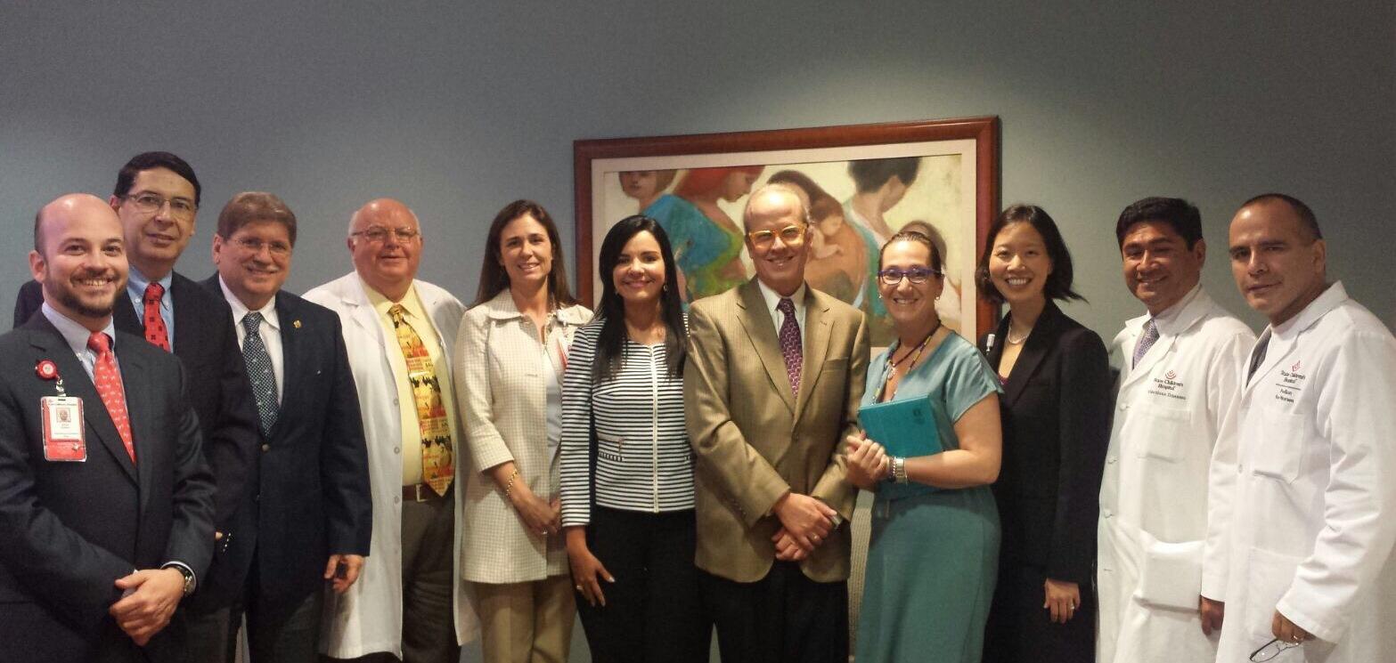 Se fortalece y amplía la alianza entre Sociedad Colombiana de Pediatría y Texas Children's Hospital de Houston