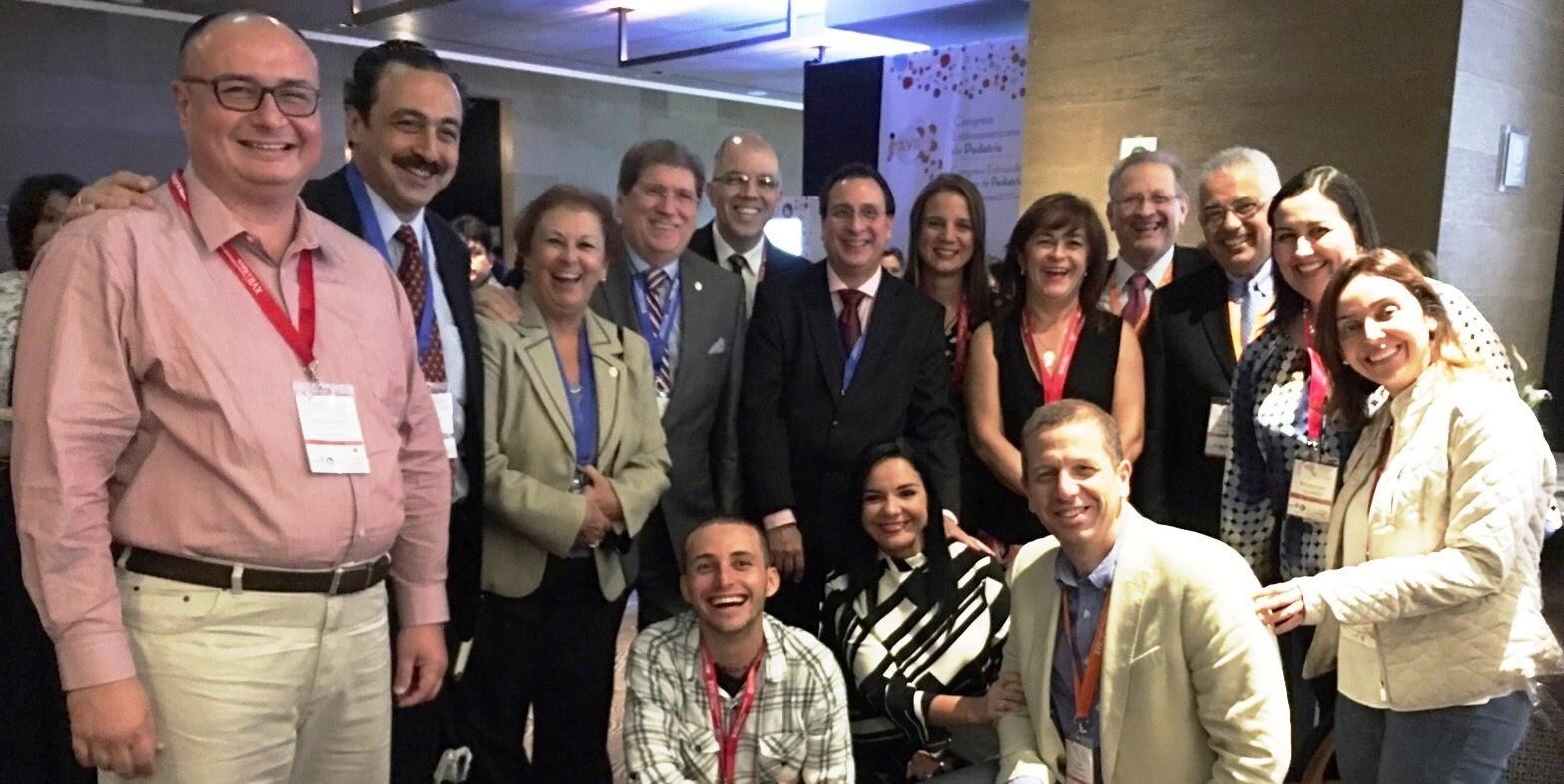XVII Congreso Latinoamericano de Pediatría: la SCP y su presencia en la región