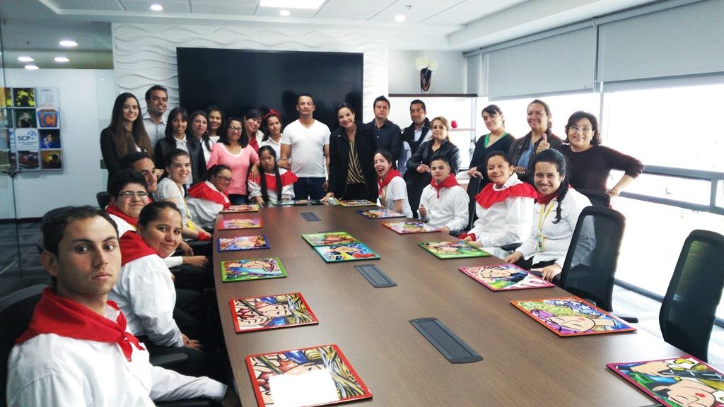 Una visita muy especial recibe la Sociedad Colombiana de Pediatría en esta Navidad