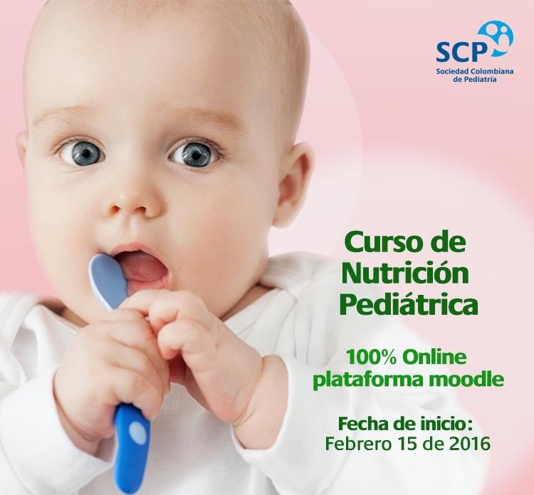 Ya están abiertas las inscripciones para el Curso de Nutrición Pediátrica