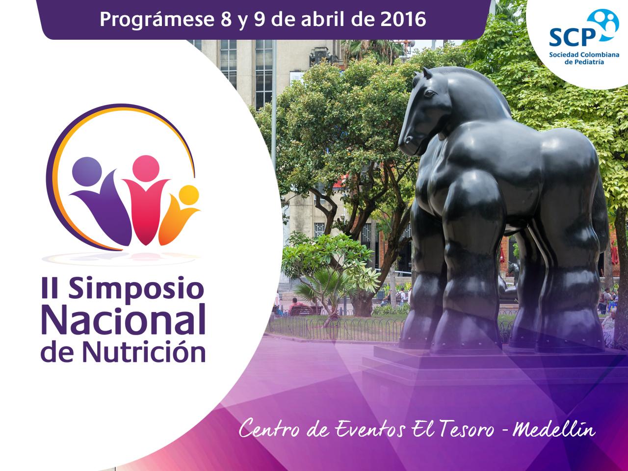 Medellín, sede del II Simposio Nacional de Nutrición en 2016