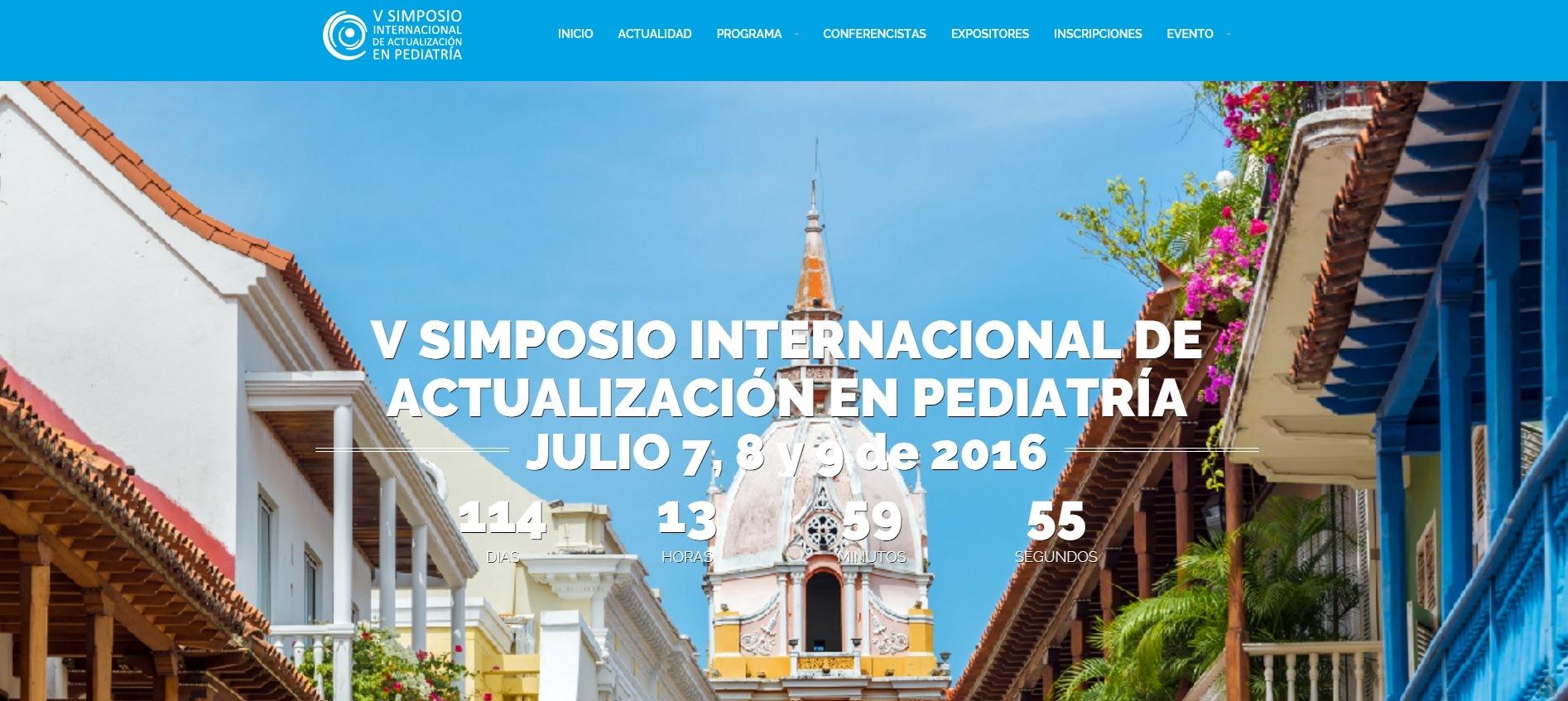 V Simposio Internacional de Actualización en Pediatría: importante cita académica y profesional en 2016