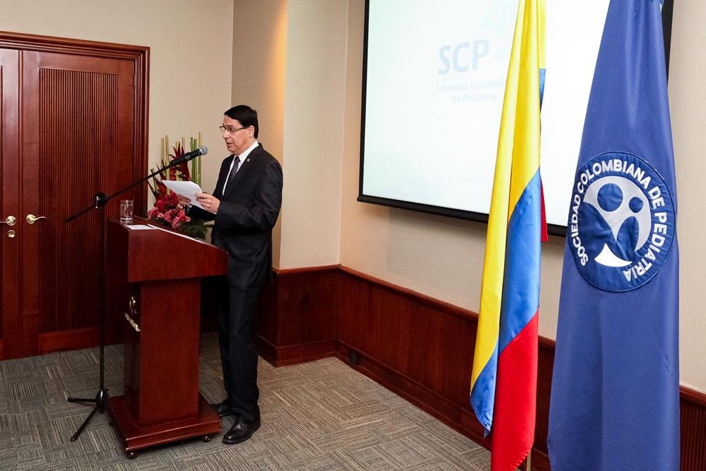 """""""Ha sido un reto para mí y un gran honor representar a la pediatría colombiana"""": Presidente de la SCP"""