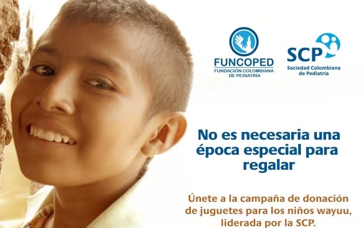 ¡Únete a la campaña de donación de juguetes para los niños wayuu!