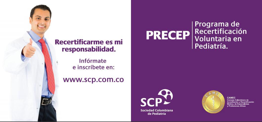 Entrega de reconocimientos del Programa de Recertificación Voluntaria en Pediatría, PRECEP