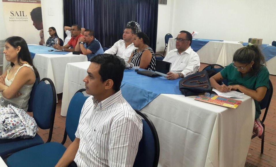 La SCP dictó importante Taller de 'Estabilización del niño crítico' en La Guajira