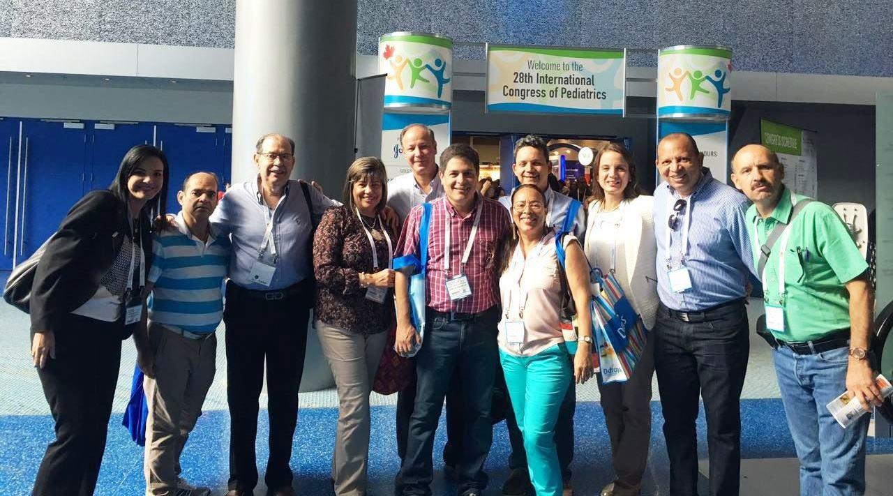 La Sociedad Colombiana de Pediatría participó en el 28º Congreso Internacional de Pediatría de la IPA