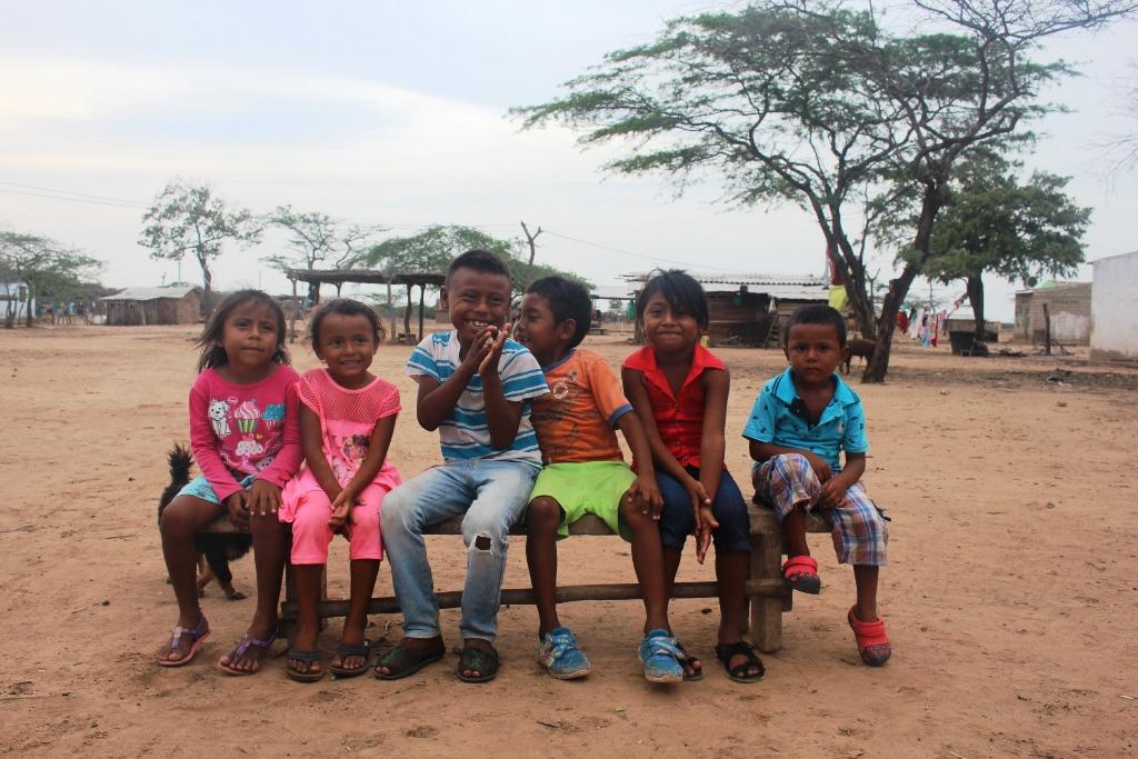 Población infantil wayuu del Cabo de la Vela (La Guajira) recibirá atención pediátrica y vacunación por la SCP