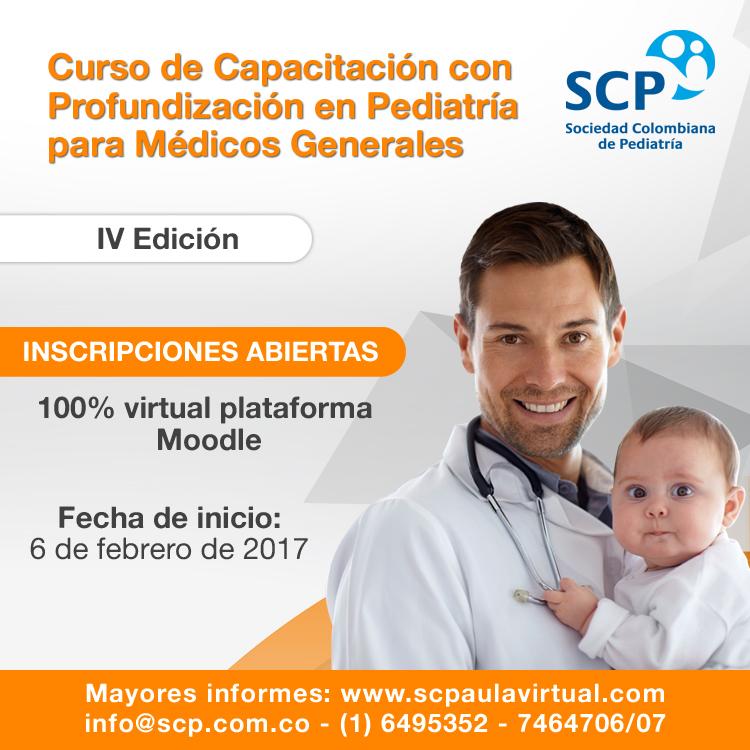 Curso de Capacitación con Profundización en Pediatría para Médicos Generales, por su IV versión