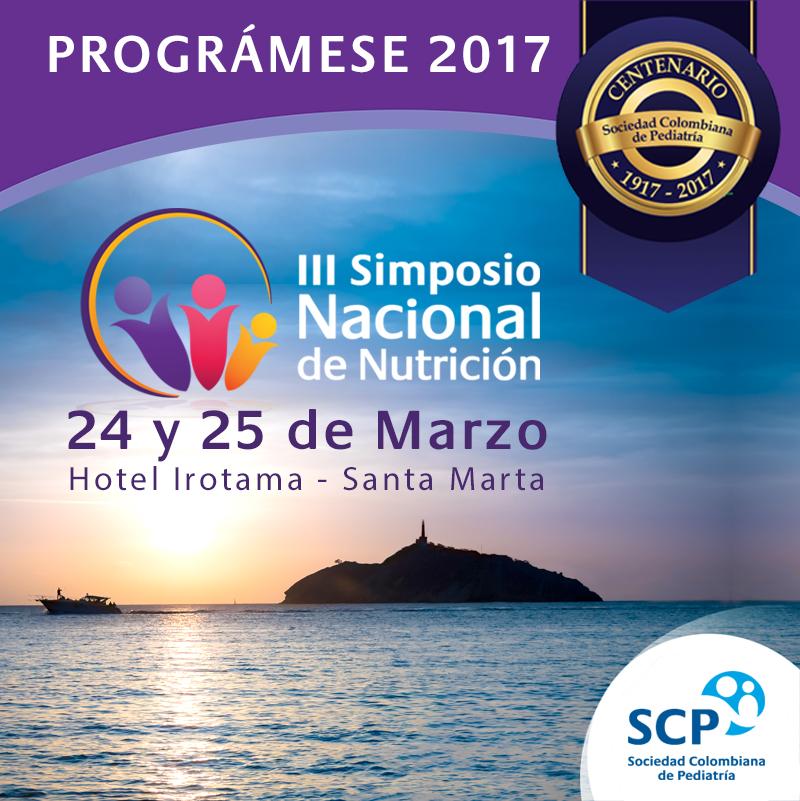 En marzo, Santa Marta será la sede del III Simposio Nacional de Nutrición