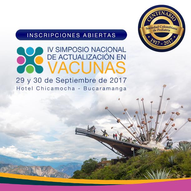 Todo lo que debe saber acerca de inmunizaciones en el IV Simposio Nacional de Actualización en Vacunas