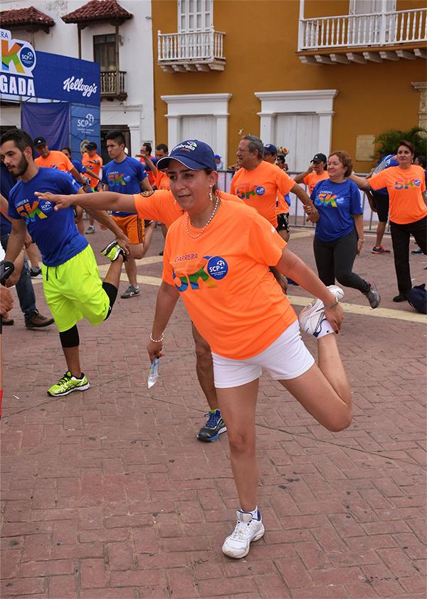 'Carrera 5K', la fiesta deportiva que integró a nuestros pediatras y sus familias en Cartagena