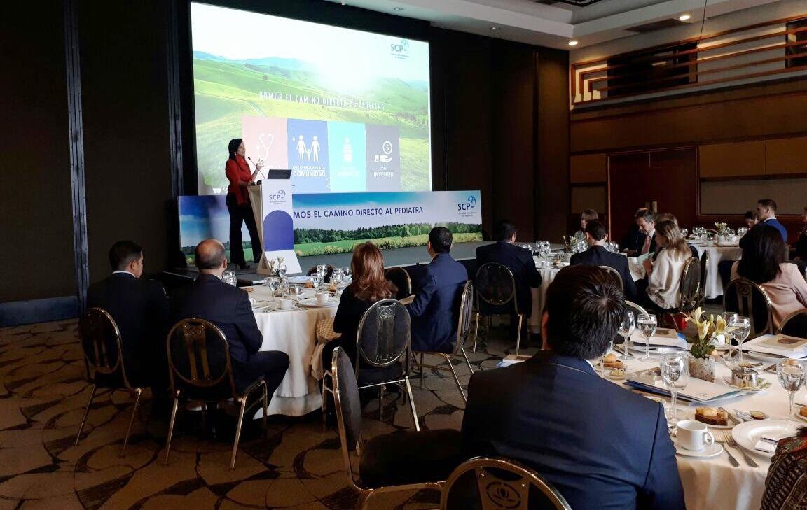 Sociedad Colombiana de Pediatría lanzó ante la industria su Plan de Actividades 2018