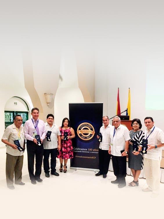 Regional Bolívar y regional Caquetá celebraron el Centenario de la SCP en el marco de sus jornadas pediátricas