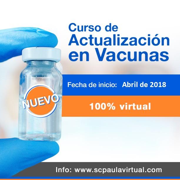 Primer Curso virtual de Actualización en Vacunas
