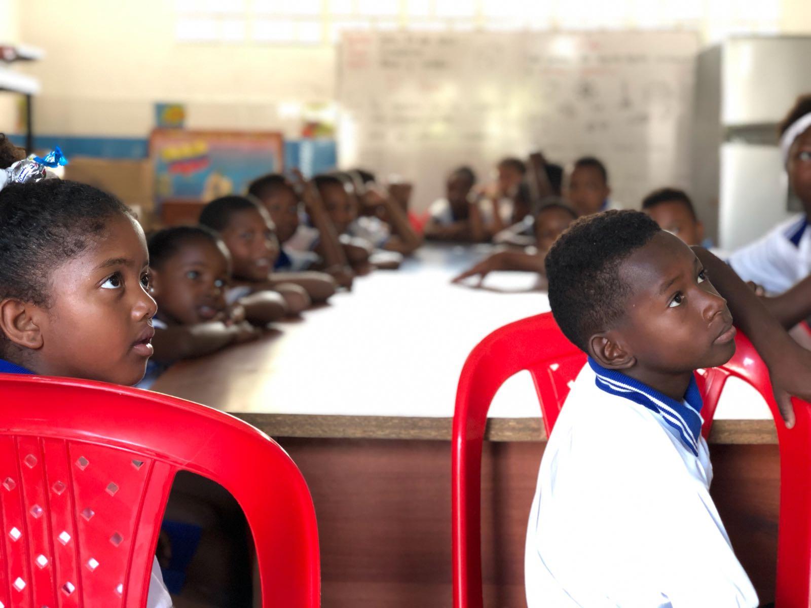 Marlinda, en Cartagena, una comunidad que cree en los sueños de sus niños por un futuro mejor