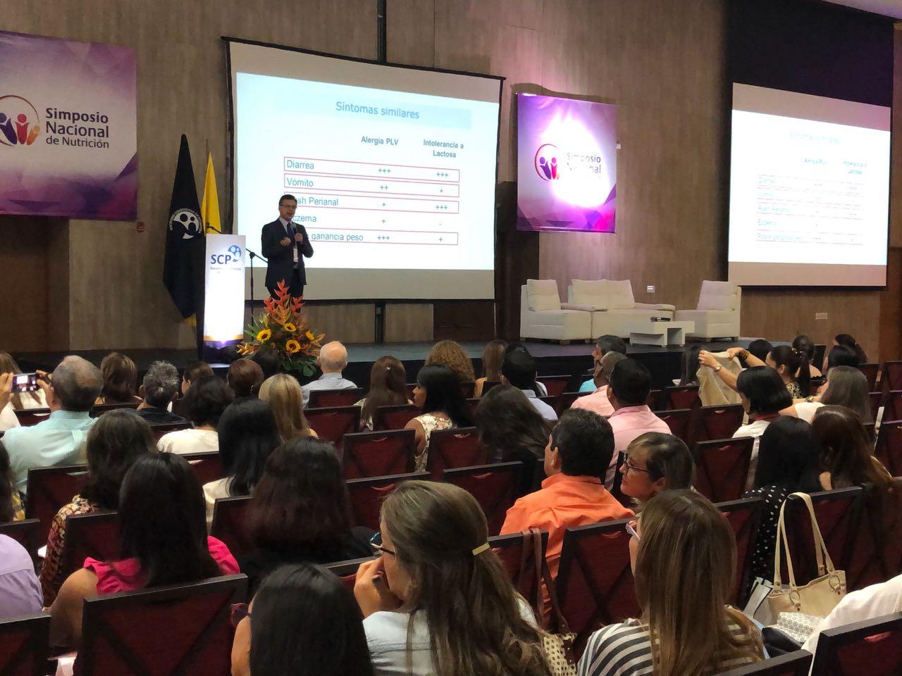 IV Simposio Nacional de Nutrición en Barranquilla permitió debatir sobre el panorama de alimentación infantil