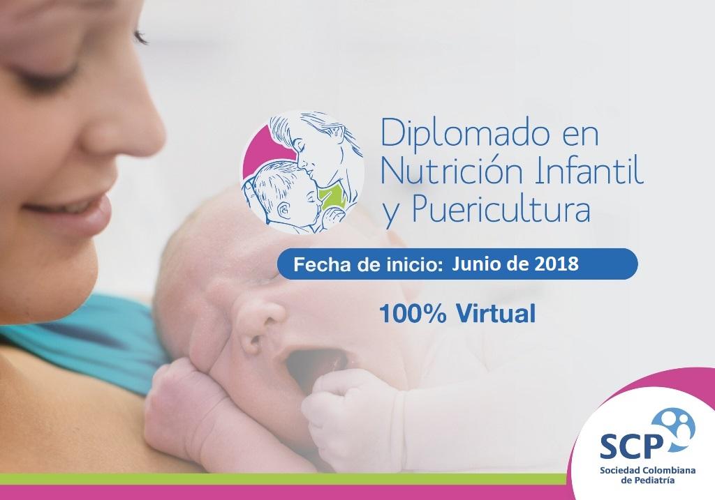 Diplomado en Nutrición Infantil y Puericultura: nuevo curso online dirigido a auxiliares y enfermeros