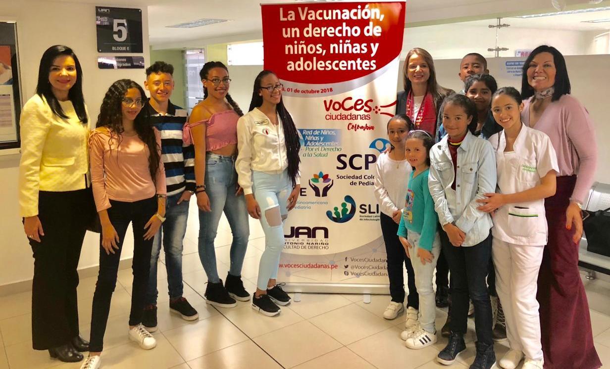 La SCP apoyó la charla de 'La vacunación, un derecho de niños y adolescentes', por Voces Ciudadanas