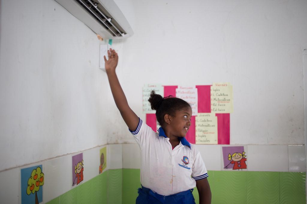Mejores condiciones ambientales para los niños de Marlinda (La Boquilla, Cartagena)