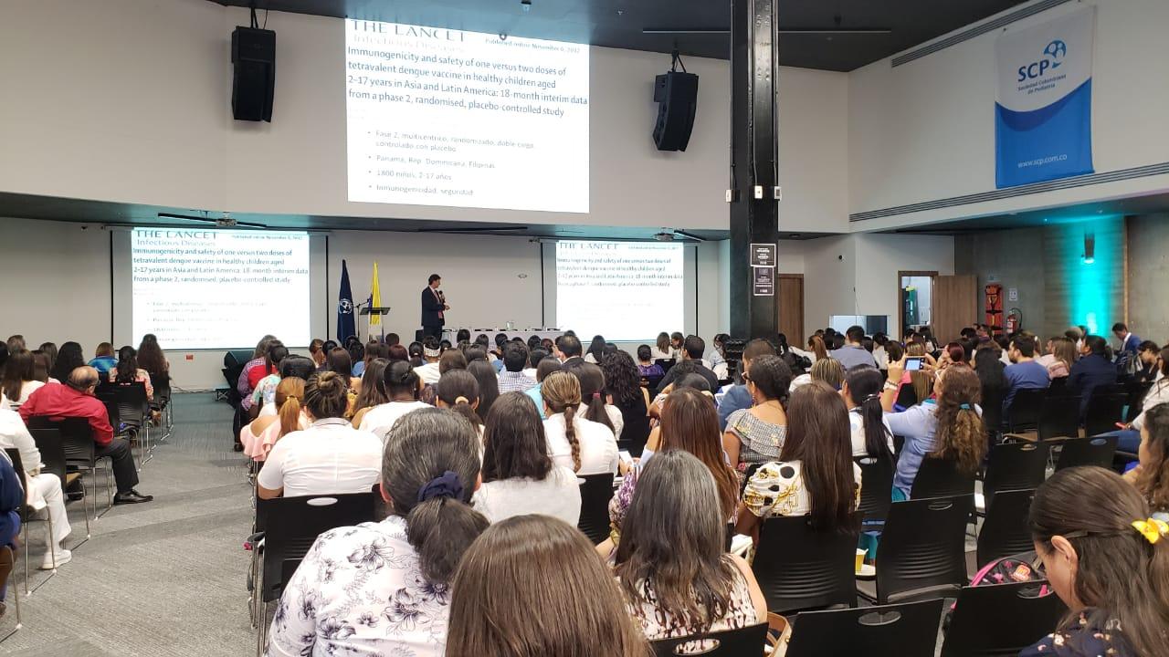 Gran participación en nuestro V Simposio Nacional de Actualización en Vacunas, en Cali